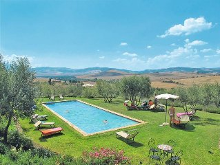 Apartment Agriturismo Grappi  in Monticchiello, Siena and surroundings - 4 pers