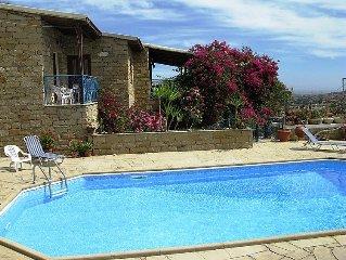 Ferienwohnung Adamos House  in Tochni, Larnaca - 2 Personen, 1 Schlafzimmer