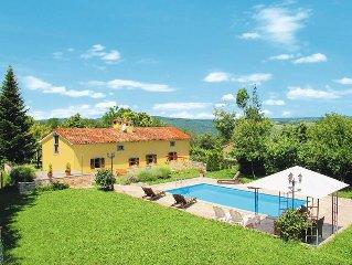 Vacation home Natursteinhaus Donada  in Nedescina, Istria - 8 persons, 4 bedroo