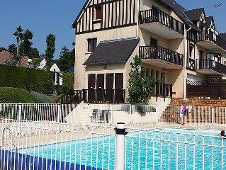 Apartment La Cour du Moulin  in Houlgate, Normandy - 4 persons, 2 bedrooms