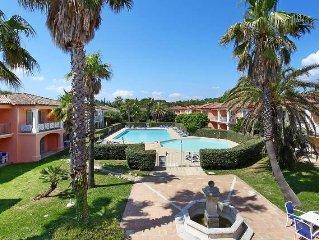 Apartment La Palmeraie  in Grimaud, Cote d'Azur - 4 persons, 1 bedroom