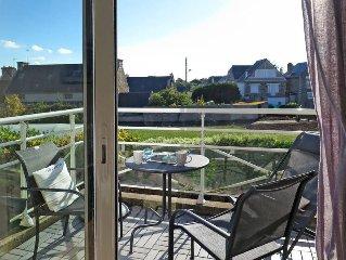Apartment Villa Marjolaine  in Pleneuf Val André, Côtes d'Armor - 4 persons, 2