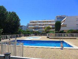 Apartment Les Incas  in La Grande Motte, Herault - Aude - 4 persons, 1 bedroom