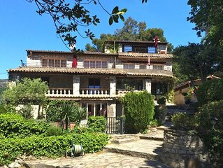 Apartment Villa Vivendi  in Vence, Cote d'Azur - 4 persons, 2 bedrooms