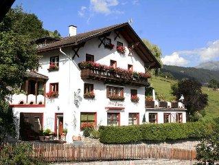 Ferienwohnung Haus Fliess  in Fliess, Oberinntal - 5 Personen, 1 Schlafzimmer