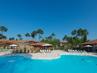 Apartment Les Cottages du Lac  in Biscarosse, Les Landes - 6 persons, 3 bedrooms