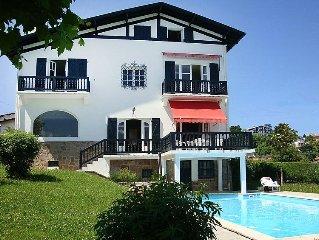 Vacation home Berasteguia  in Saint - Jean - de - Luz, Basque Country - 12 pers