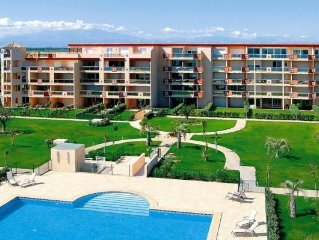 Residence Les Flamants Roses, Canet-en-Roussillon  in Pyrenees Orientales - 4 p