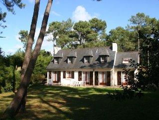 Vacation home Le Bois du Kador  in Crozon - Morgat, Brittany - Southern - 6 per