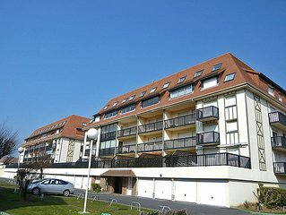 Apartment Super Deauville  in Villers sur mer, Normandy - 2 persons, 1 bedroom