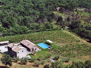 Vacation home Val d'Orcia  in Radicofani, Siena and sourroundings - 10 persons,