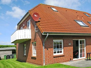 Apartment Haus Wattkieker  in Nessmersiel, North Sea: Lower Saxony - 4 persons,