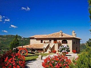 Ferienhaus Podere dei Venti  in Castel del Piano, Siena und Umgebung - 12 Person