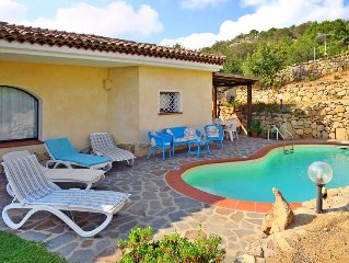 Vacation home Villa Maria Teresa  in Liscia di Vacca, Sardinia - 10 persons, 3