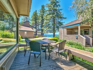 Lakeland Village #603 Lakeview - See & Ski Tahoe-Steps to Lake, Family Fun