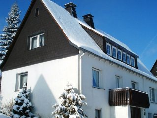 Spacious house in ski area and scenic hiking and cycling routes