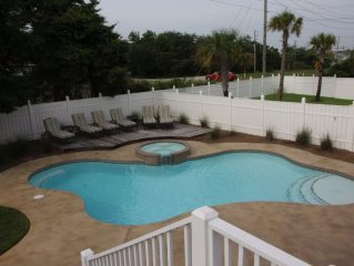 Fabulous outdoor patio, Private heated pool, hot tub, 6bdr/6ba,18-24