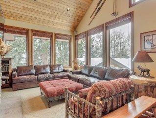 High-End Ski Lodge On Slopes Of Alta