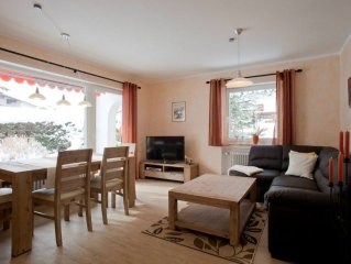 This very beautiful 3-room apartment is located central inwardly of Garmisch-Pa