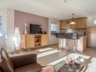 Be our guest in our newly built, exclusive holiday house in sunny area of Farch