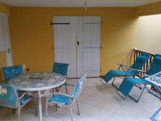 Kanelgite Tres Bel Appart Climatise de 50 m2 DansJolie Villa Creole Proche Me