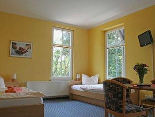 Zweibettzimmer - Gastehaus 'Am Luisenpark'