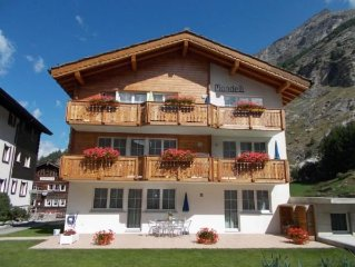 Ferienwohnung Saas Almagell fur 2 - 3 Personen mit 1 Schlafzimmer - Ferienwohnun