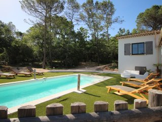 VILLA VAR PROVENCE PRIVATE POOL 8 people.