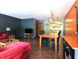 Newly Renovated - Ski In And And Ski Out! Right on the Hill. End Unit