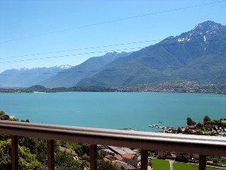 Apartment Residence Il Poggio  in Vercana (CO), Lake Como - 4 persons, 1 bedroom