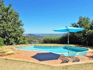Vacation home La Maison Bleue  in La Garde - Freinet, Cote d'Azur - 6 persons,
