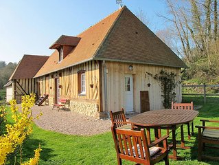 Vacation home in Courtonnes la Meurdrac, Normandy / Normandie - 5 persons, 2 be