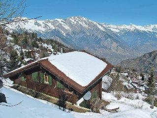 Vacation home in La Tzoumaz, Quatre Vallees - 8 persons, 4 bedrooms