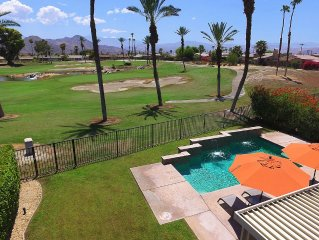 A 'Golfer's Paradise' Double Fairway & Mountain Views With Pool & Spa!