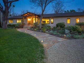 Wine Country Retreat - Designer Style, Relaxed Comfort in Los Olivos