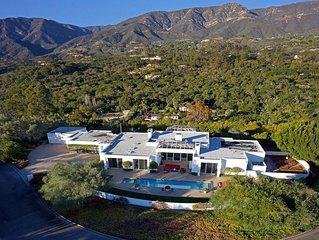 Villa Blanca - Design and Sleek Sophistication in Montecito
