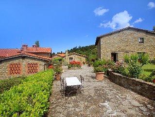 Apartment La Capraia  in Castelfranco di Sopra, Arezzo, Cortona and surrounding