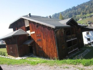 SMALL COMFORTABLE 3 ROOMS - 6 PEOPLE - 300 M SKIING - GARAGE 1 CAR