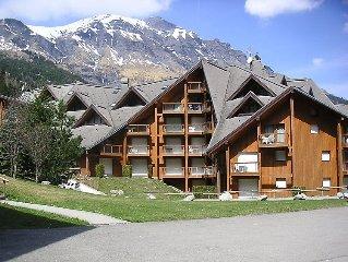 Apartment L'Enclave I et J  in Les Contamines, Savoie - Haute Savoie - 4 person