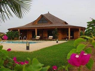Villa Grand Standing au Senegal a 80 km au sud de Dakar sur la Petite Cote