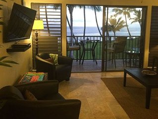 Molokai Shores Oceanfront 1/bed close to the water with views