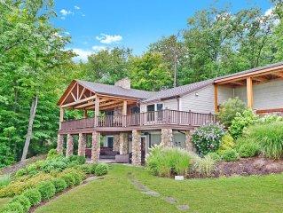 Amazing Views - Timber Frame Luxury Home on Canandaigua Lake!