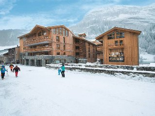 Apartment Residence Santa Terra  in Tignes, Savoie - 6 persons, 2 bedrooms