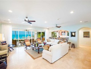 4-5BR/4.5BA Luxury Cos Kai Villa With Private Beach in Beautiful Cayman Kai