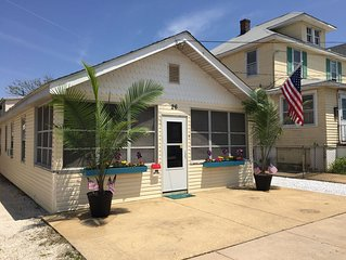 Immaculate 3 bedroom home just steps from the beach, boardwalk and games