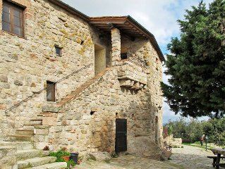 Apartment Castello di Civitella  in Roccastrada (GR), Maremma - 2 persons