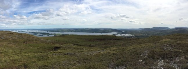 View from Mount Gable - behind the house