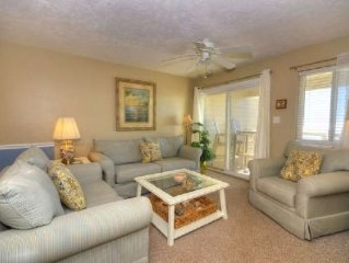 Beautifully Decorated Oceanfront Condo with Swimming Pool