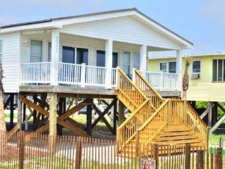 Beautiful Views,Oceanfront, 4 Bedroom-2 Bath, Close to Food & Shopping