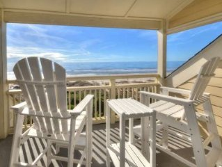 2 Bedroom-1Bath Condo with Gorgeous Views of Caswell Beach